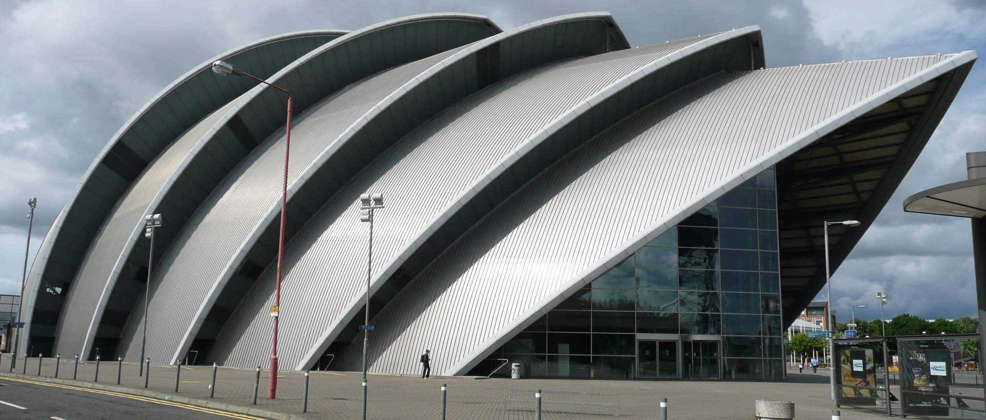 The SECC centre in Glasgow near PREMIER SUITES PLUS Glasgow George Square